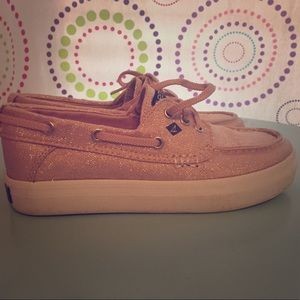 Girl's Sperry Crest Resort boat shoe